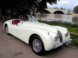 1952 JAGUAR XK120 OTS ROADSTER - RHD - FULLY RESTORED  For Sale