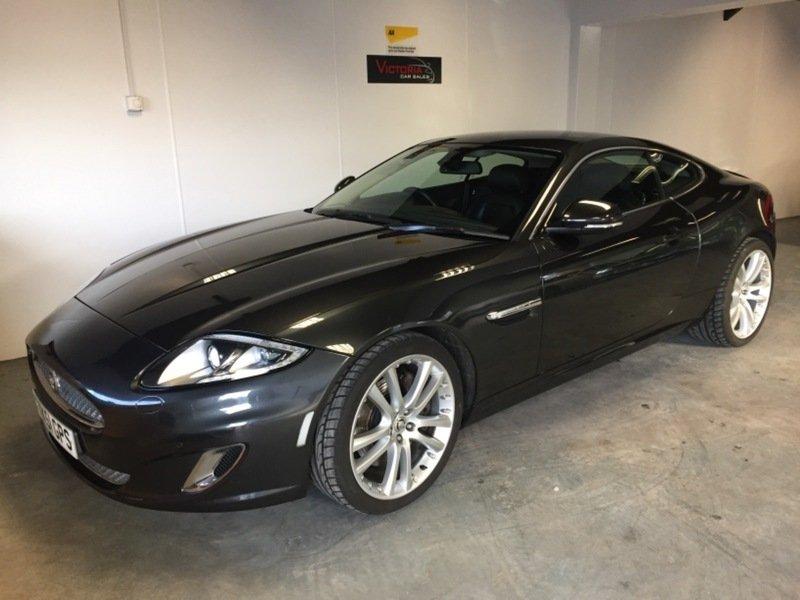 2013 Jaguar XK 5.0 Coupe Auto 385 bhp. facelift. For Sale (picture 1 of 6)