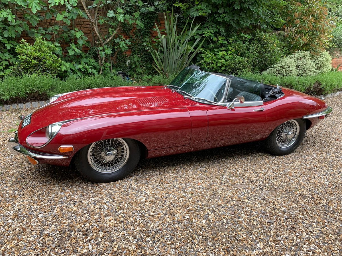 1970 Jaguar E type Roadster Series 2 4.2 For Sale (picture 1 of 6)