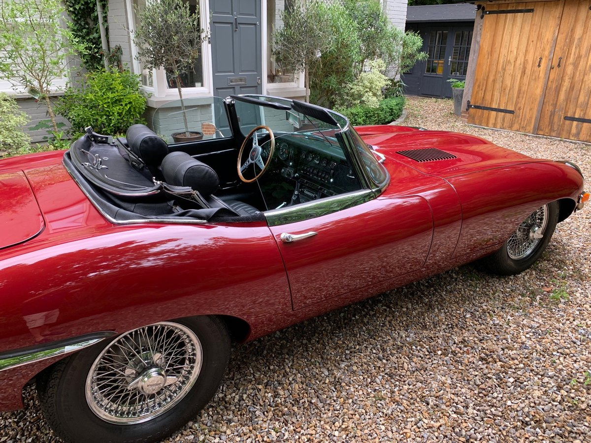 1970 Jaguar E type Roadster Series 2 4.2 For Sale (picture 2 of 6)