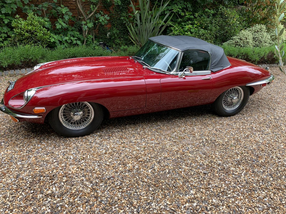 1970 Jaguar E type Roadster Series 2 4.2 For Sale (picture 3 of 6)