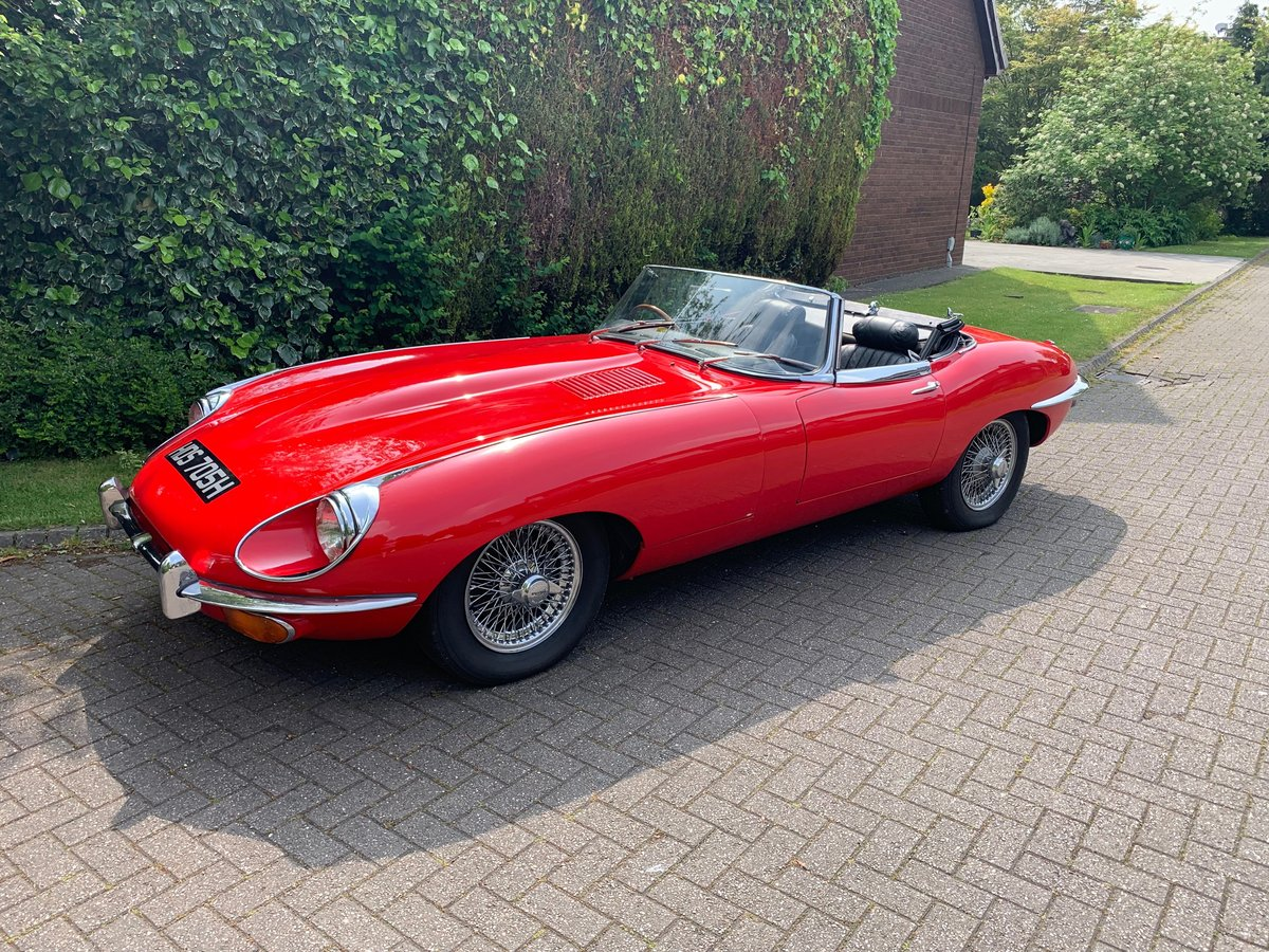 1968 JAGUAR E TYPE  Series II OTS Roadster For Sale (picture 1 of 6)