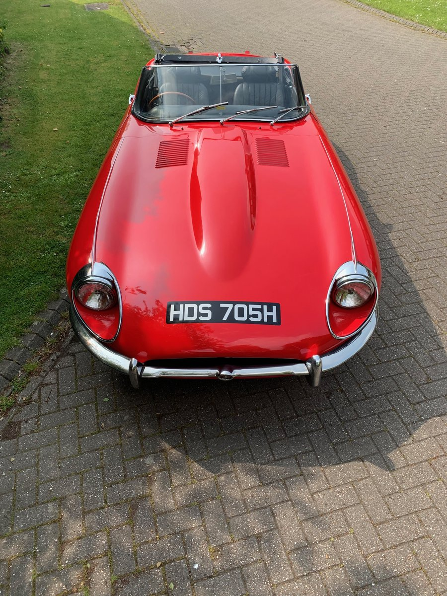 1968 JAGUAR E TYPE  Series II OTS Roadster For Sale (picture 2 of 6)
