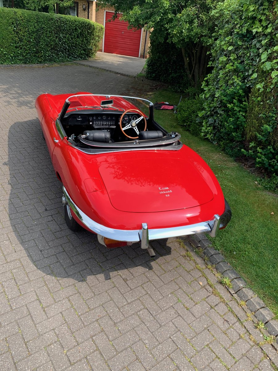 1968 JAGUAR E TYPE  Series II OTS Roadster For Sale (picture 4 of 6)