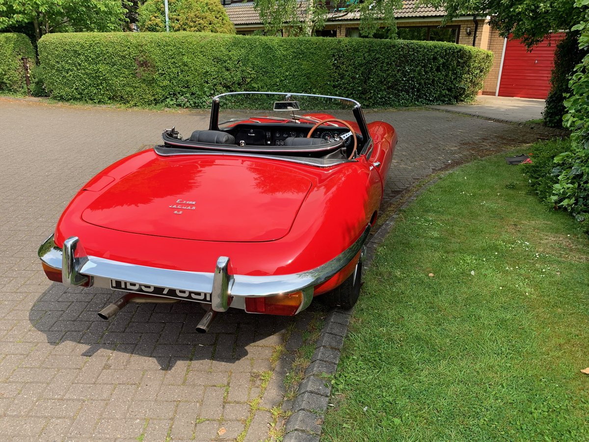 1968 JAGUAR E TYPE  Series II OTS Roadster For Sale (picture 5 of 6)