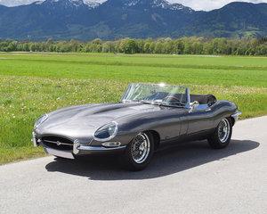 1961 Jaguar E-Type 3.8 Litre OTS Flatfloor For Sale by Auction