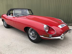 1968 Jaguar E Type Series 1 Roadster, professionally restored  SOLD