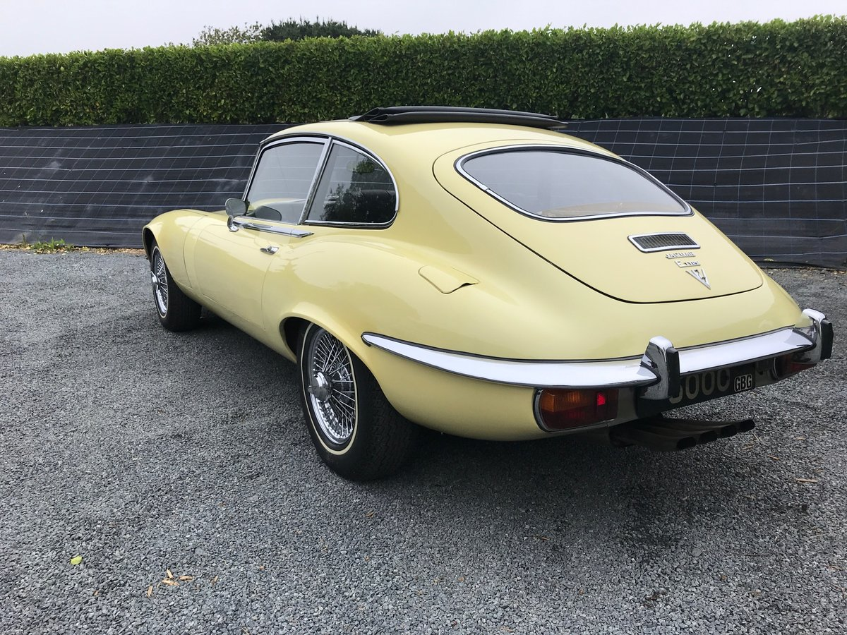 1973 Jaguar Series 3 V12 FHC Documented history 12636 Miles  For Sale (picture 2 of 6)