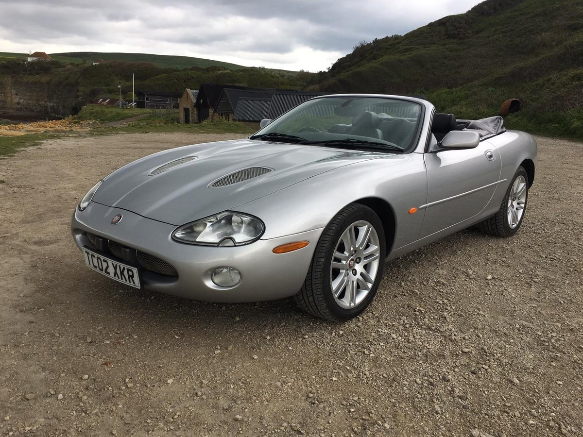 JAGUAR XKR CABRIOLET 2002 For Sale (picture 1 of 6)