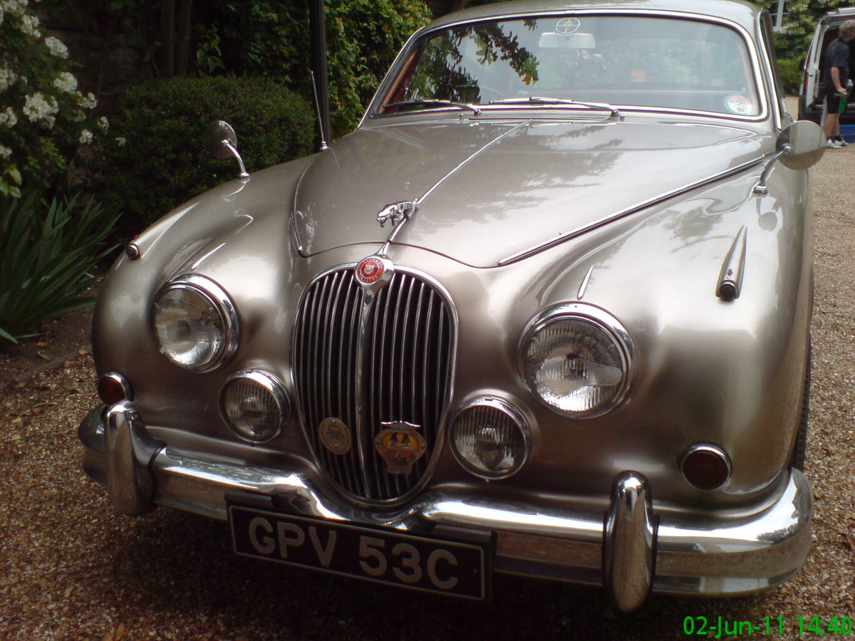 1965 Fully restored genuine 2 owner JaguarMk2 + history SOLD (picture 1 of 5)