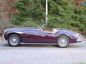 1956 Beautiful restored Jaguar XK140 OTS For Sale
