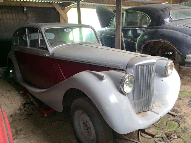 1950 Jaguar MK V Saloon For Sale (picture 1 of 2)