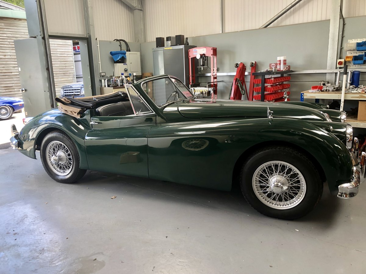 1956 Newly restored Jaguar XK140 DHC  For Sale (picture 6 of 6)