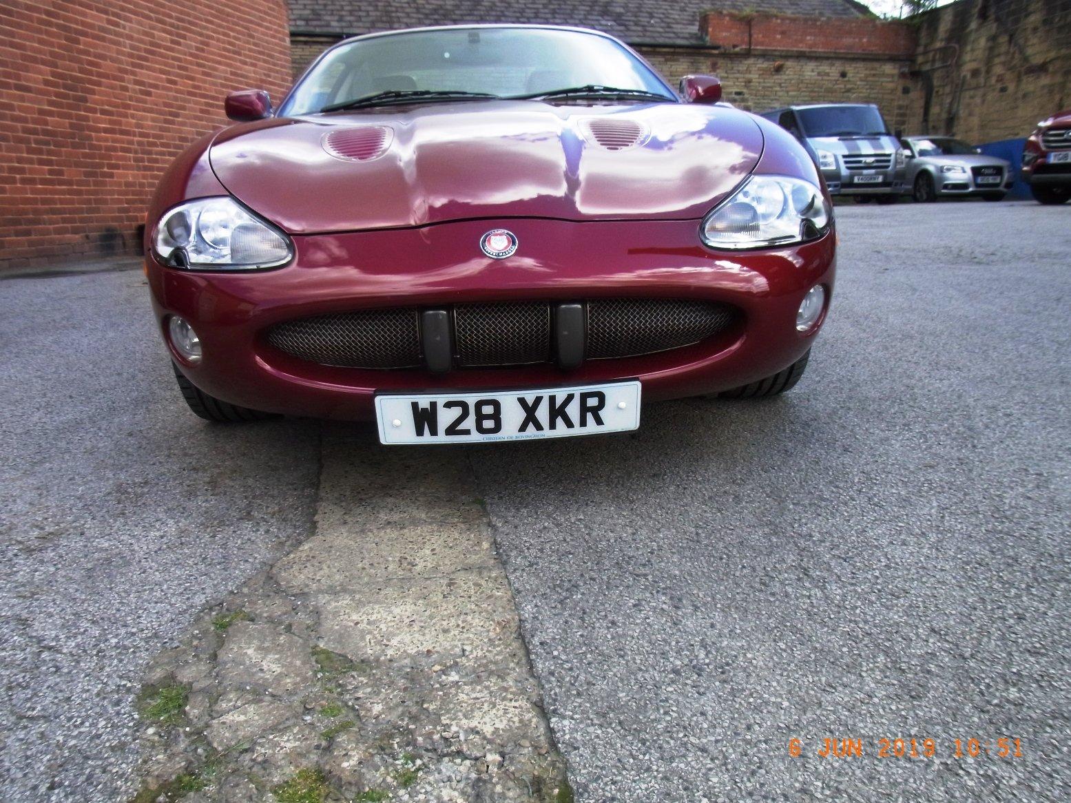 2002 Jaguar XKR 4.00 Litre Coupe For Sale (picture 3 of 6)