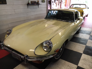 1969 Jaguar E Type Coupe = Clean Yellow(~)Brown LHD $obo For Sale