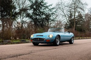 1972 - Jaguar E-Type V12 Series III roadster  For Sale by Auction