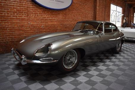 1964 Jaguar E-Type 3.8 Fixed Head Coupe = Silver(~)Red LHD  For Sale (picture 1 of 6)