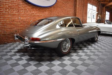 1964 Jaguar E-Type 3.8 Fixed Head Coupe = Silver(~)Red LHD  For Sale (picture 2 of 6)