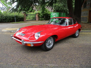 1970 Jaguar E Type Fixed Head 4.2  J Reg  UK Gen RHD