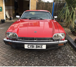 1985 Jaguar XJS V12 5.3 Red