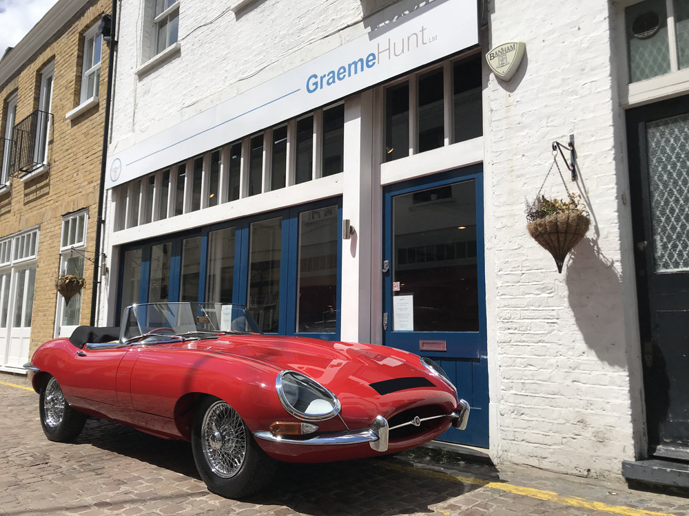 1962 Jaguar E Type Roadster - Restored by CMC For Sale (picture 1 of 6)
