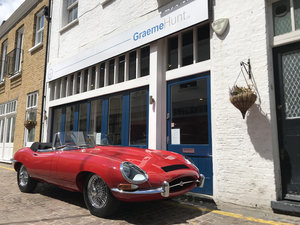 1962 Jaguar E Type Roadster - Restored by CMC For Sale