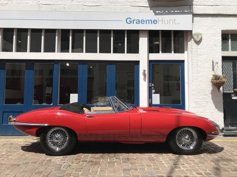 1962 Jaguar E Type Roadster - Restored by CMC For Sale (picture 3 of 6)