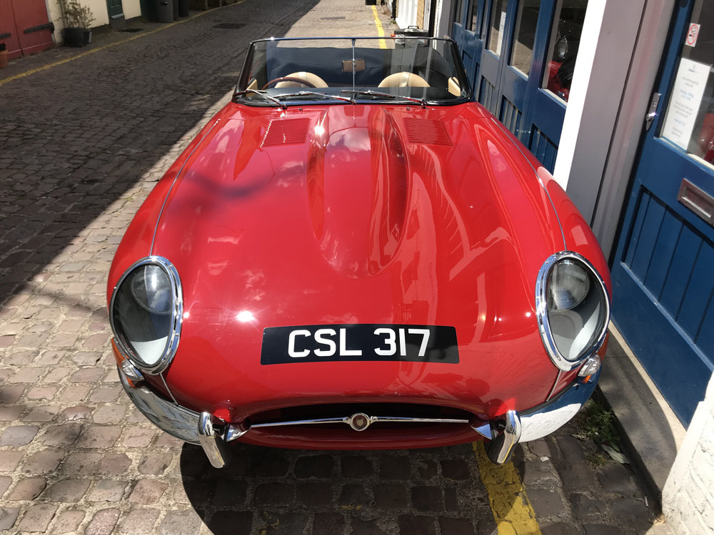 1962 Jaguar E Type Roadster - Restored by CMC For Sale (picture 5 of 6)