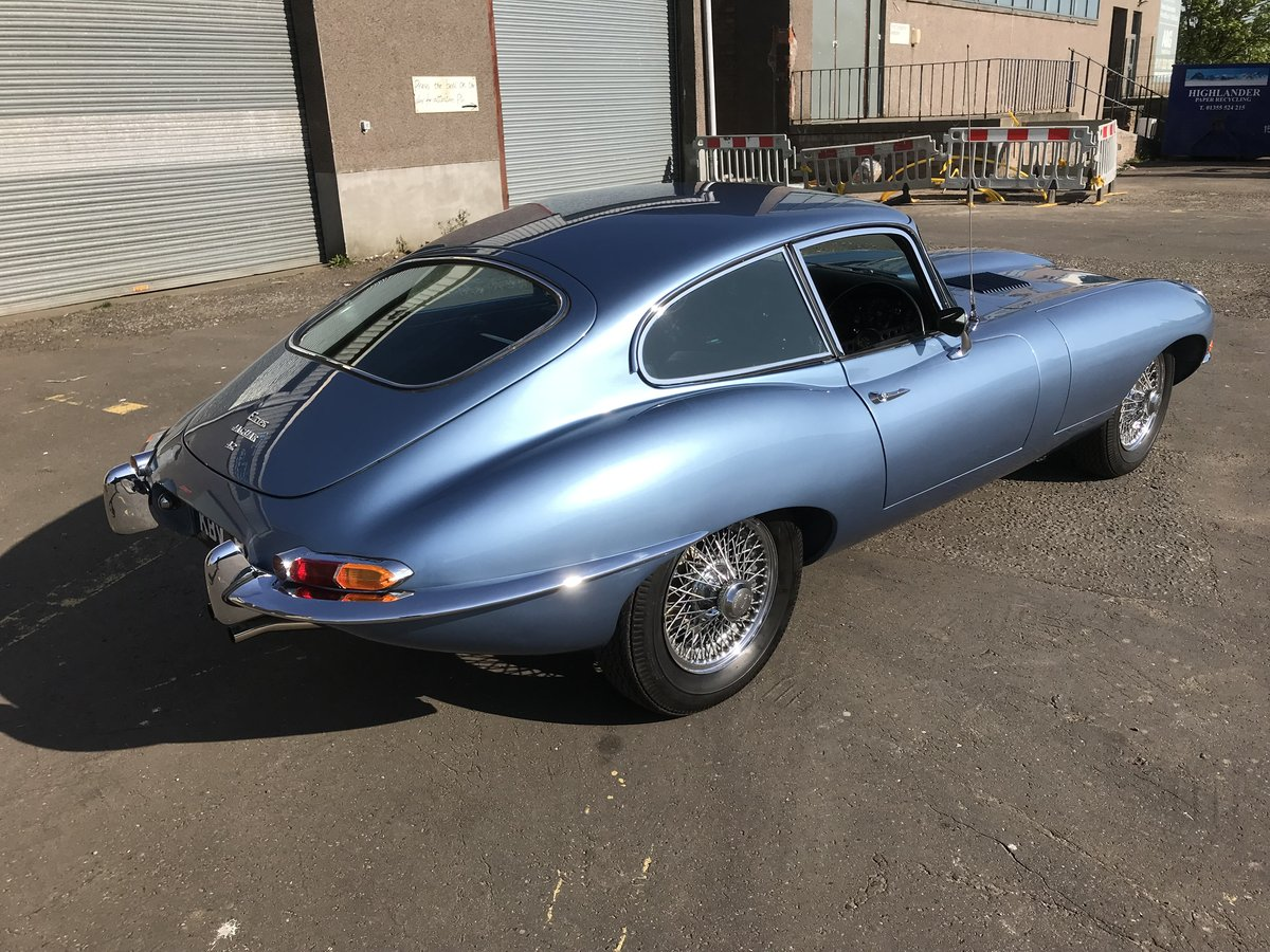 Jaguar E-Type Series 1.5, 1968, FHC, 4.2 Manual For Sale (picture 3 of 6)