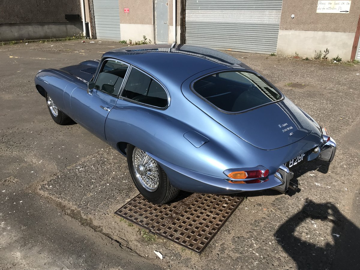 Jaguar E-Type Series 1.5, 1968, FHC, 4.2 Manual For Sale (picture 4 of 6)
