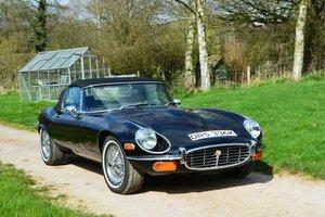 1972 Jaguar E-Type S3 V12 Roadster For Sale by Auction