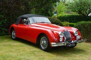 1959 Jaguar XK150SE 3.4 Drophead Coupe For Sale by Auction