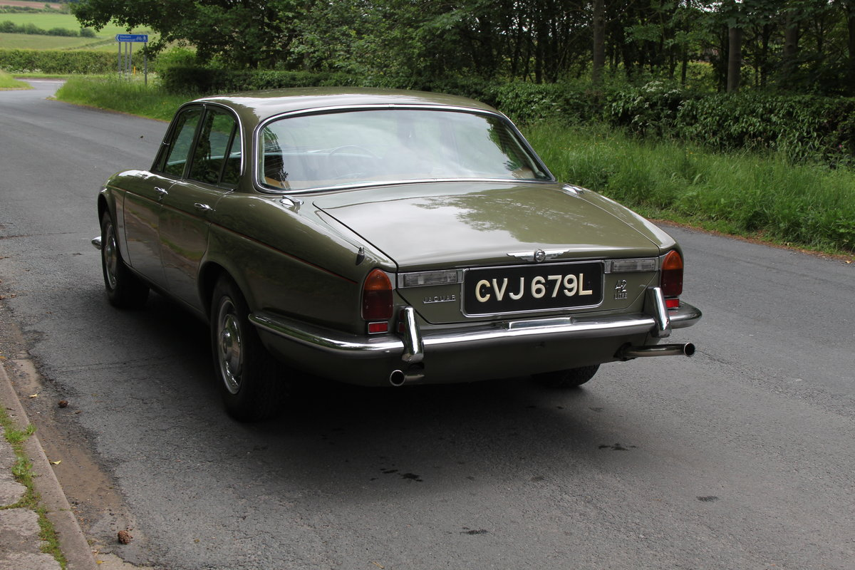 1973 Jaguar XJ6 Series I 4.2 Manual O/D For Sale (picture 4 of 12)
