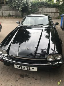 1992 Jaguar xjs v12 facelift  black