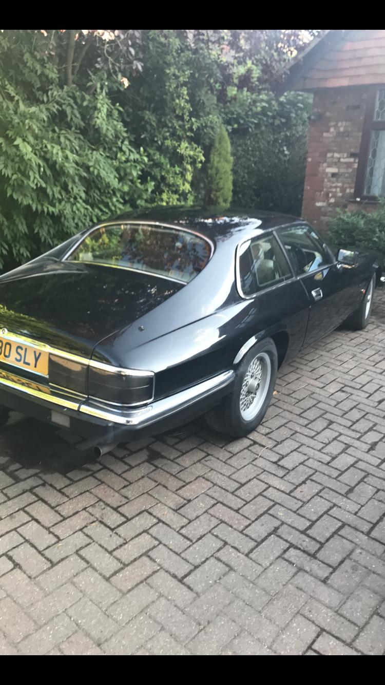 1992 Jaguar xjs v12 facelift  black For Sale (picture 2 of 6)