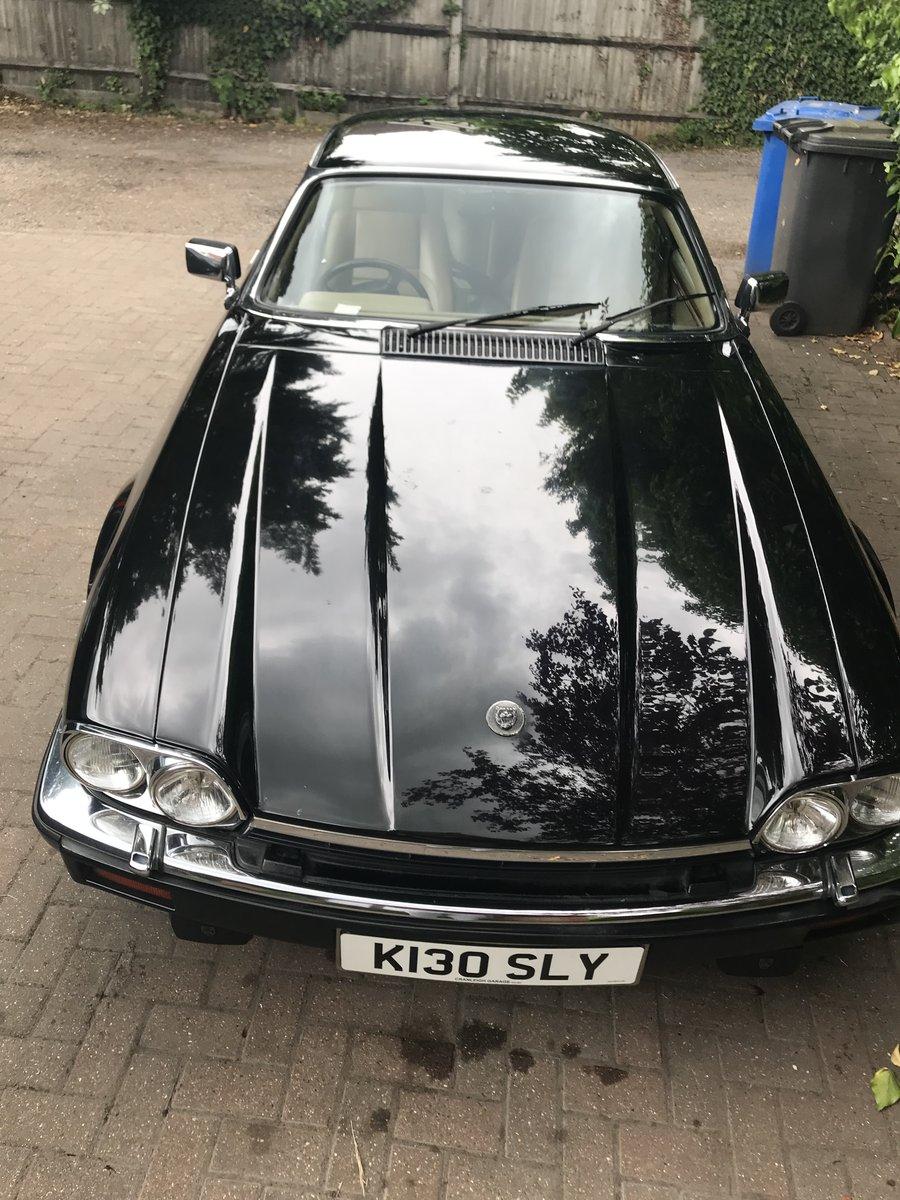 1992 Jaguar xjs v12 facelift  black For Sale (picture 5 of 6)
