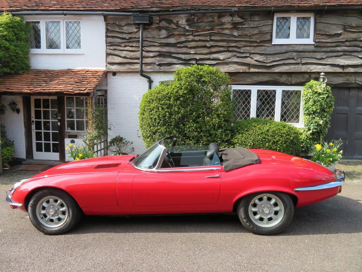 1971 Jaguar E-Type Series  3, V12, Roadster For Sale (picture 5 of 5)