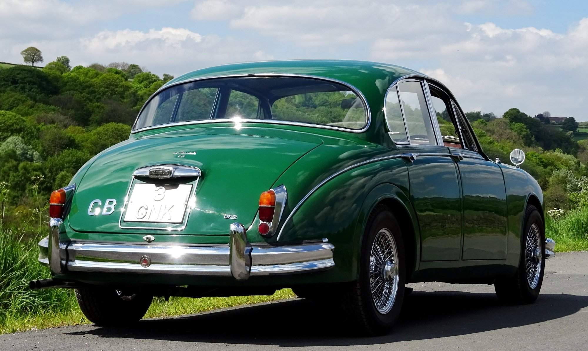 1961 STUNNING JAGUAR MK2 3.8 BRITISH CLASSIC CAR For Sale (picture 3 of 6)