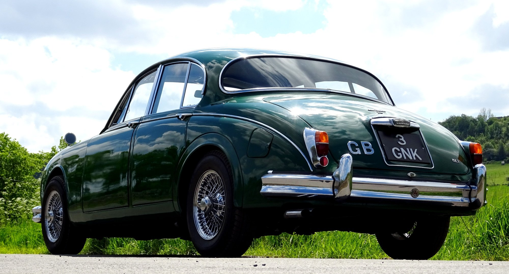 1961 STUNNING JAGUAR MK2 3.8 BRITISH CLASSIC CAR For Sale (picture 4 of 6)