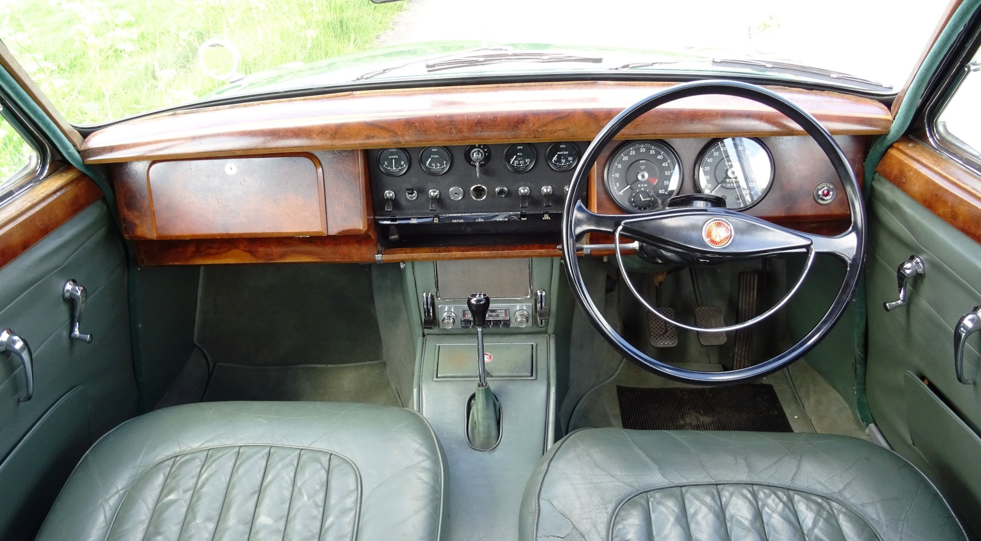 1961 STUNNING JAGUAR MK2 3.8 BRITISH CLASSIC CAR For Sale (picture 5 of 6)