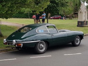 1970 E Type coupe S2 UK RHD  EX John Coombs For Sale
