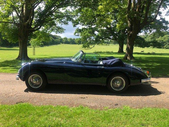 1960 Jaguar XK150 Convertible  SOLD (picture 2 of 6)