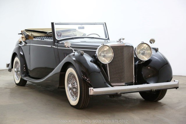 1948 Jaguar Mark IV Drophead Coupe Left Hand Drive For Sale (picture 1 of 6)