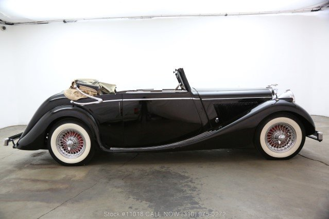 1948 Jaguar Mark IV Drophead Coupe Left Hand Drive For Sale (picture 2 of 6)