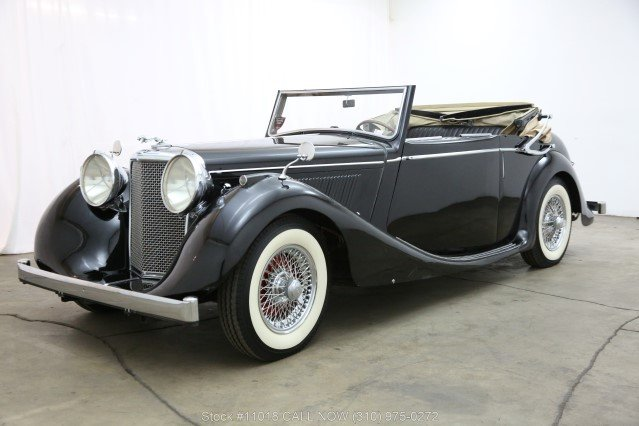 1948 Jaguar Mark IV Drophead Coupe Left Hand Drive For Sale (picture 3 of 6)