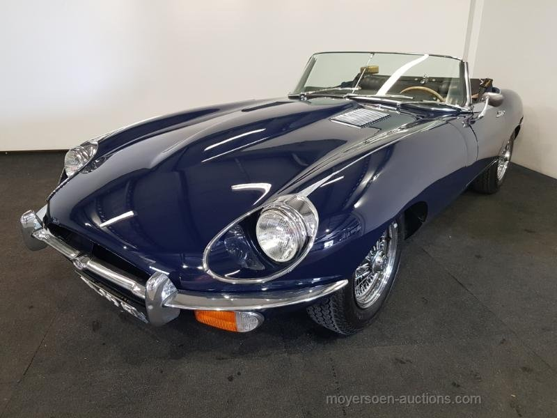 Jaguar E-type S2 Cabriolet 1970  For Sale by Auction (picture 1 of 6)