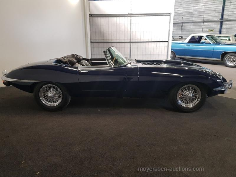Jaguar E-type S2 Cabriolet 1970  For Sale by Auction (picture 2 of 6)