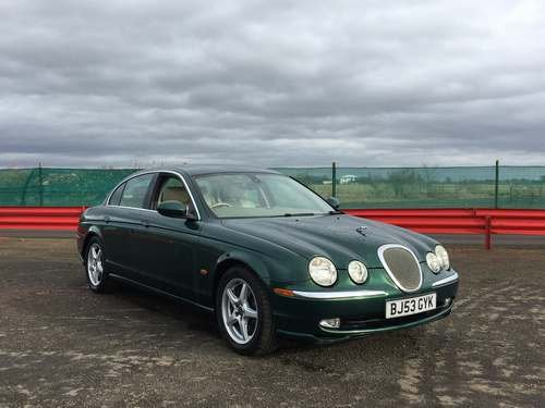 2003 Jaguar S-Type V8 **WITHOUT RESERVE** at Auction 17th August SOLD by Auction (picture 1 of 6)