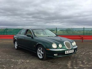 2003 Jaguar S-Type V8 **WITHOUT RESERVE** at Auction 17th August SOLD by Auction