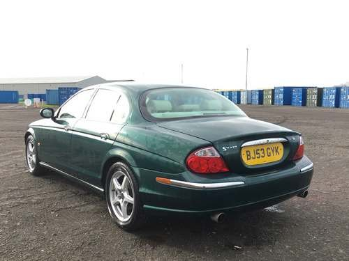 2003 Jaguar S-Type V8 **WITHOUT RESERVE** at Auction 17th August SOLD by Auction (picture 2 of 6)